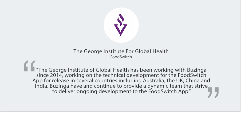 Foodswitch Mobile App Testimonial
