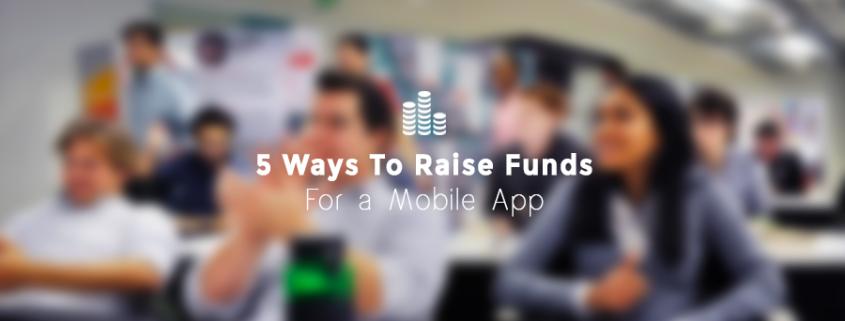 Mobile app developer fundraising