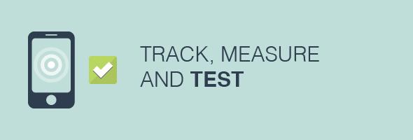 Track & Measure app marketing