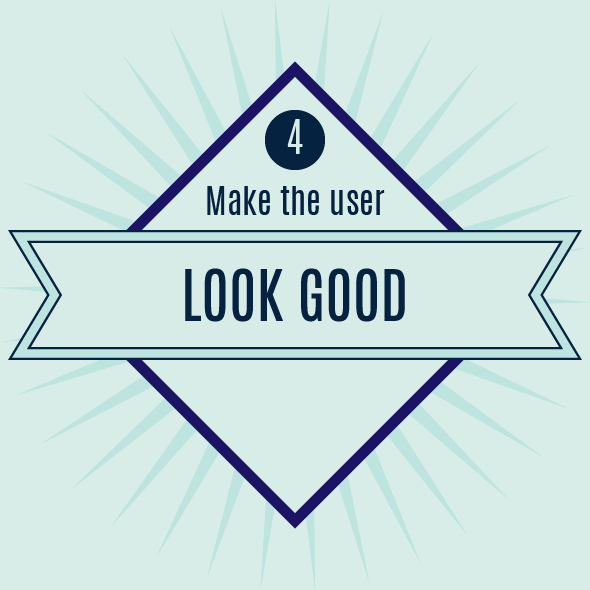 make your app user look good