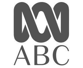 ABC grayscale logo