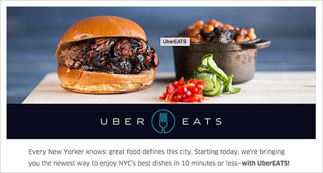 Uber Eats Mobile App