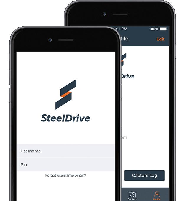 SteelDrive app