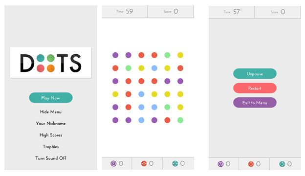 Dots 10 Stunning Apps for App Design Inspiration