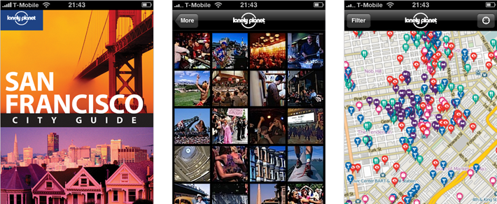 Lonely planet mobile strategy