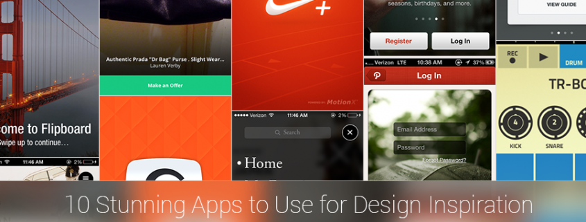10 Stunning Apps For App Design Inspiration