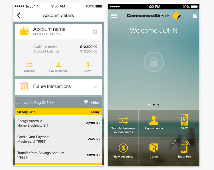 Commbank-app-development