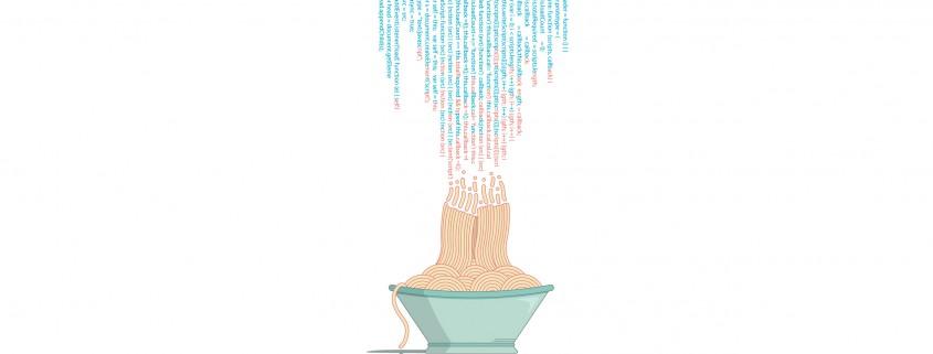 app developer spaghetti code