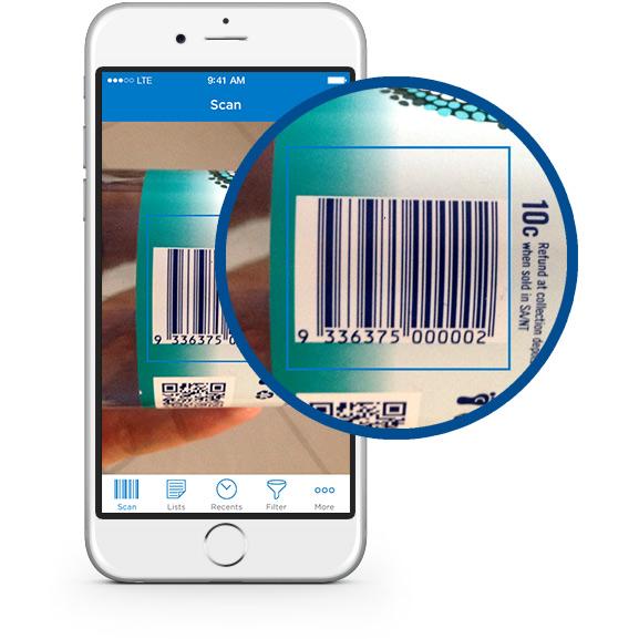 food scanner app