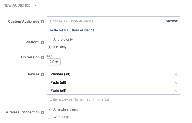 facebook phone targeting