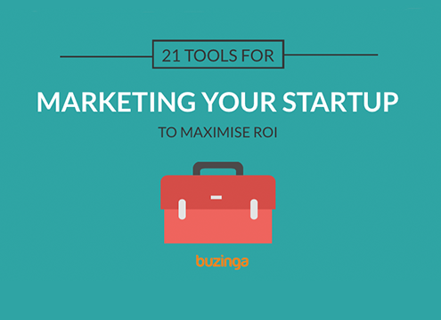 tools for marketing your startup