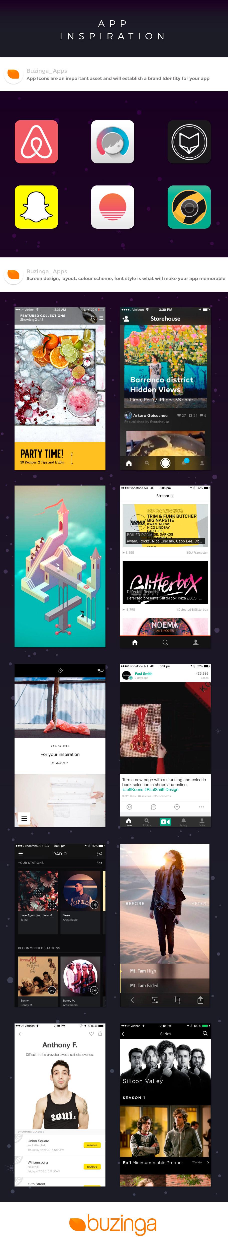 Mobile App UI Design Infographic
