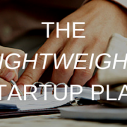 THE LIGHTWEIGHTSTARTUP PLAN (1)