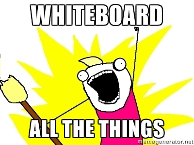 Whiteboard All The Things Meme
