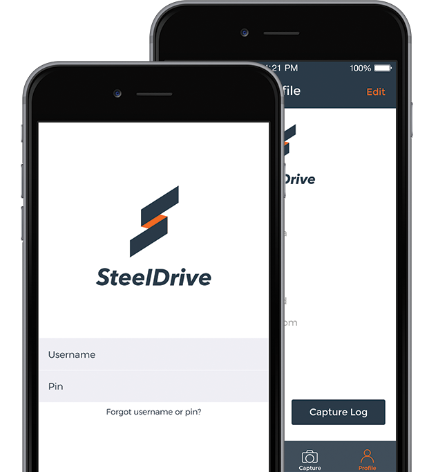 Steel Drive Mobile Application
