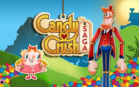 candy crush virality