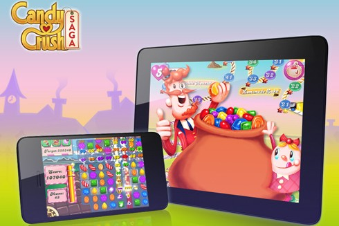 candy crush for iphone and ipad