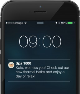 re-enage lapsed users with push notifications