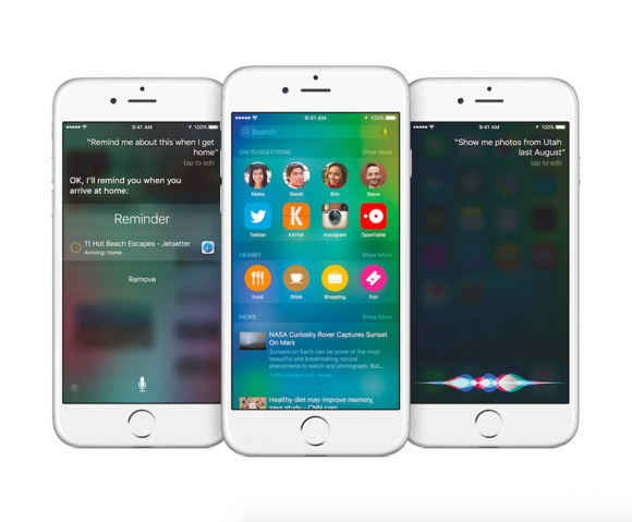 devices that iOS 9 is compatible on