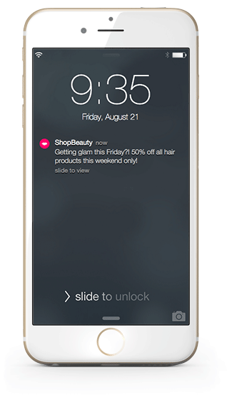 know your users before you send push notifications