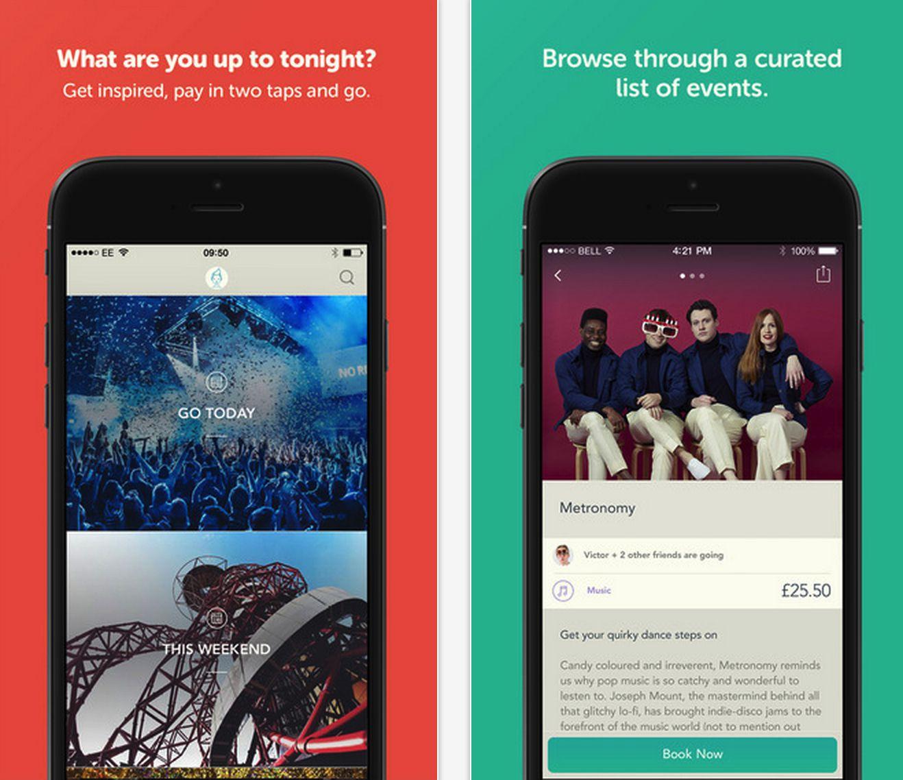 Yplan entertainment app