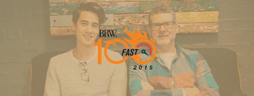 Buzinga App Development Ranks in BRW Top 100 Fast Starters
