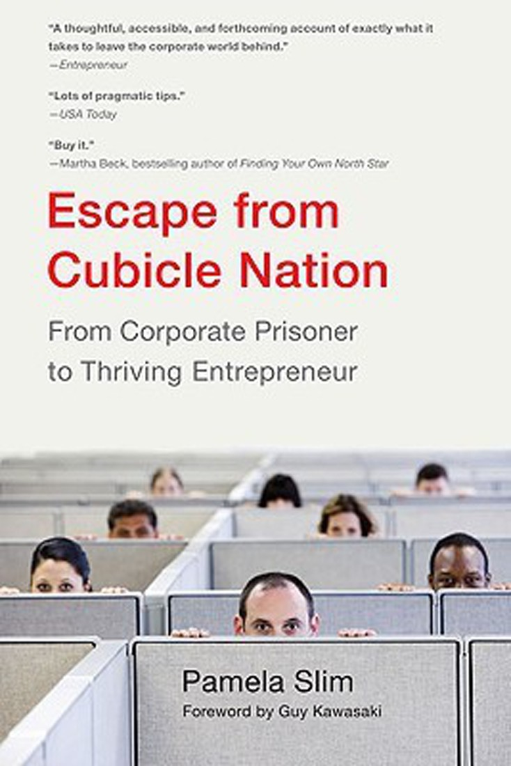 escape from cubicle nation book cover