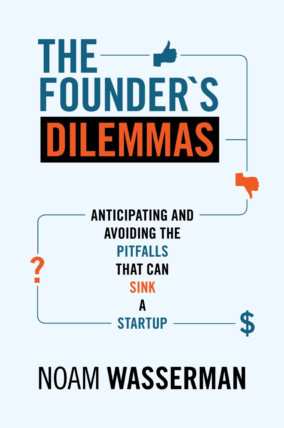founder's dilemmas book cover