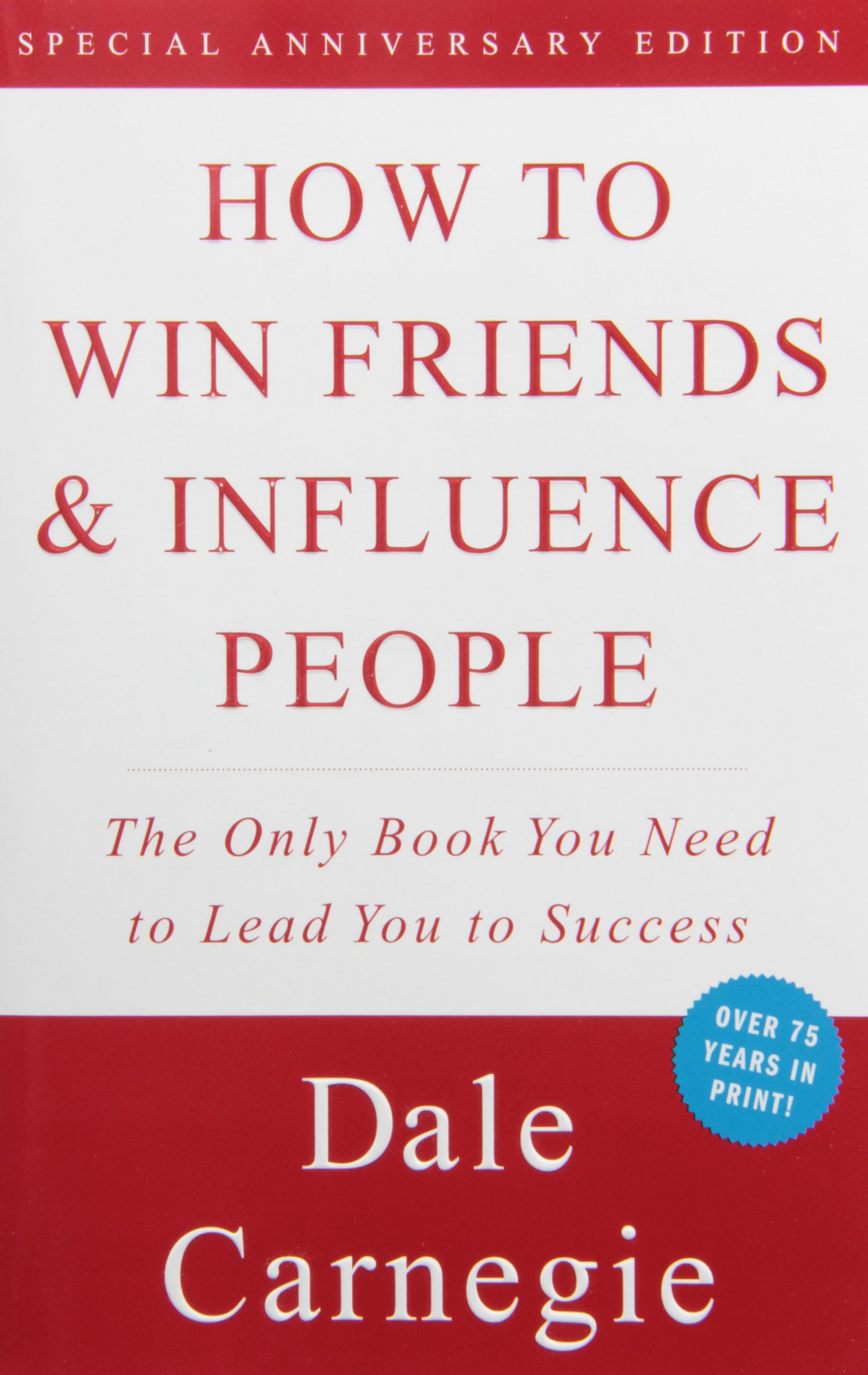 how to win friends and influence people - book cover