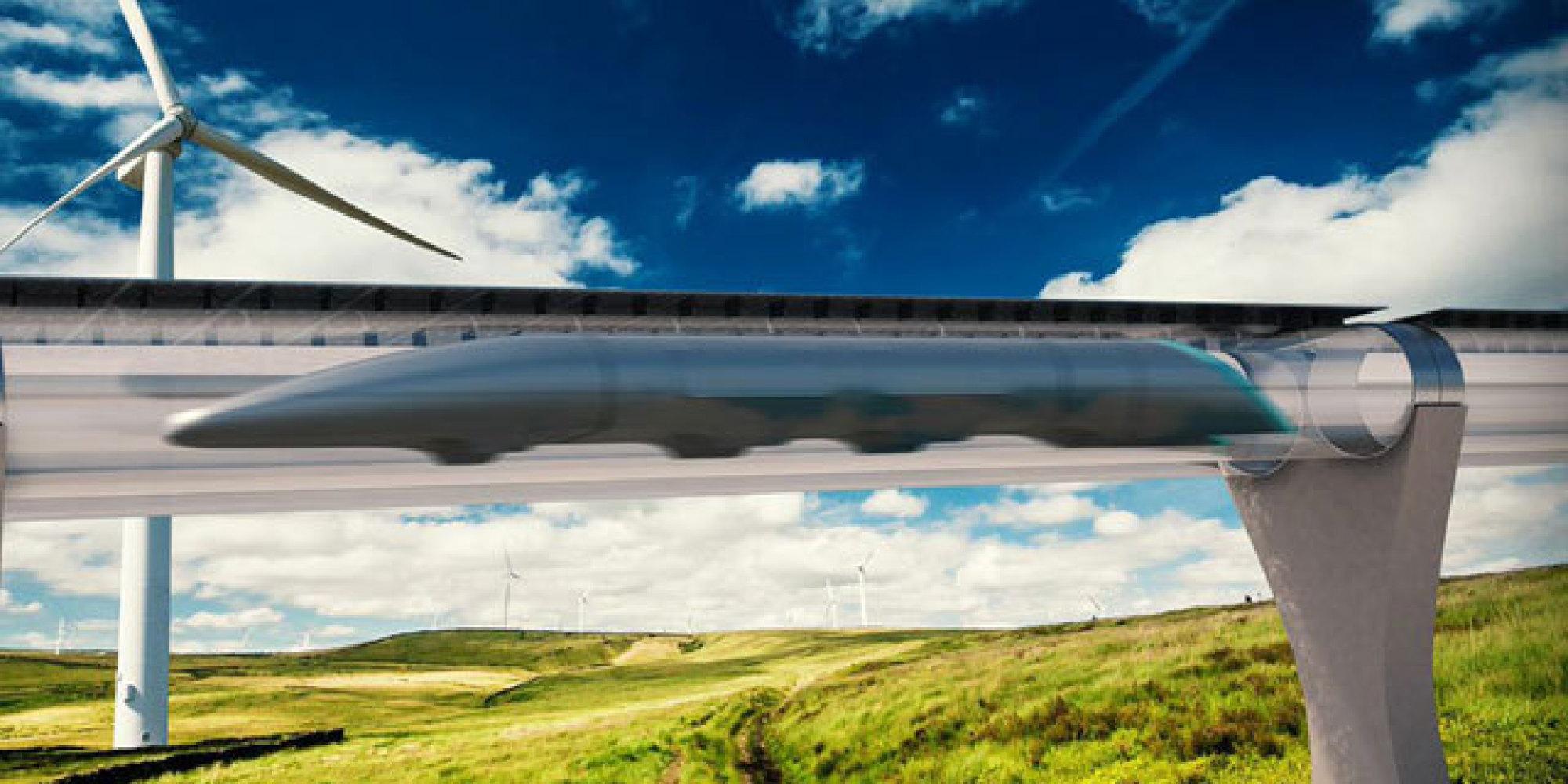 Proposed hyperloop