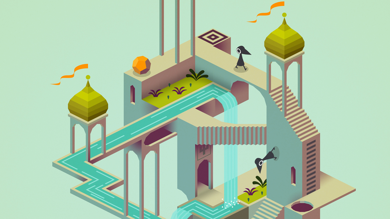 Monument Valley in-app gameplay