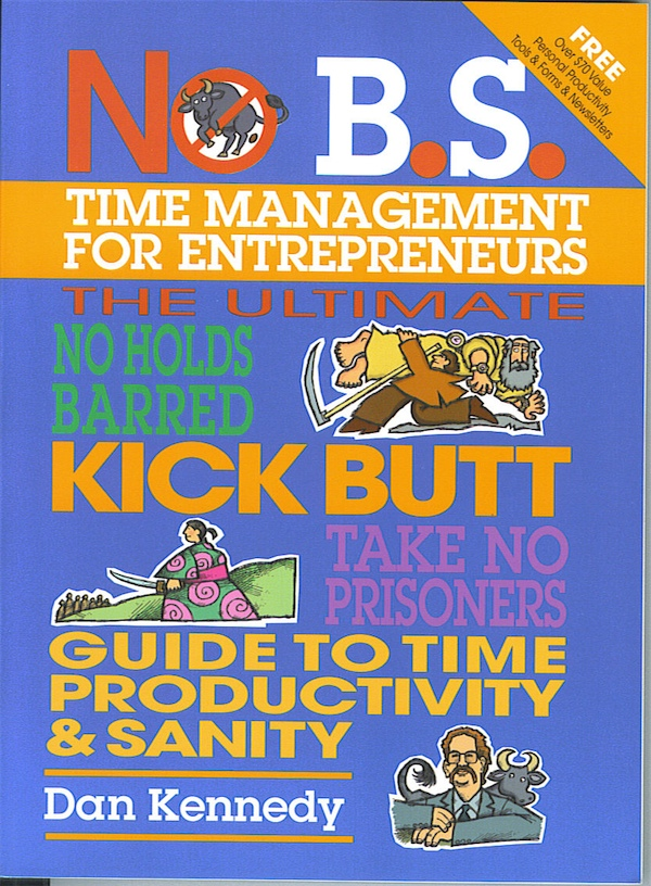 no BS time management for entrepreneurship - book cover