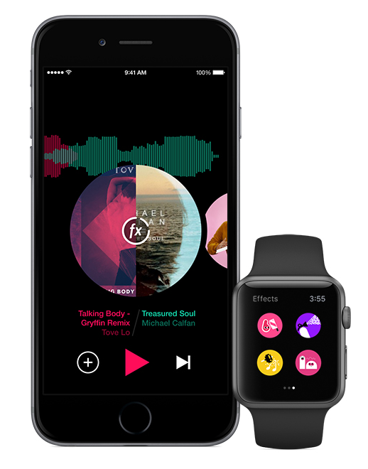Pacemaker app for iPhone and Apple watch