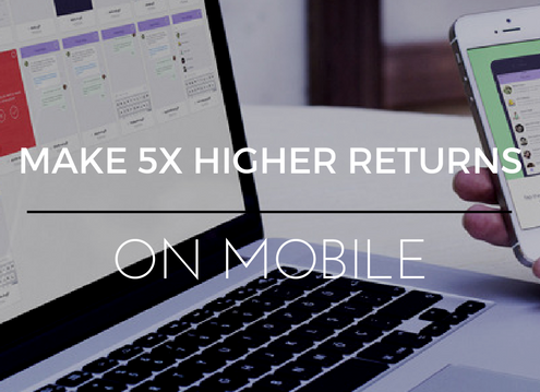New Forrester Data Reveals How To Make 5X Higher ROI On Mobile
