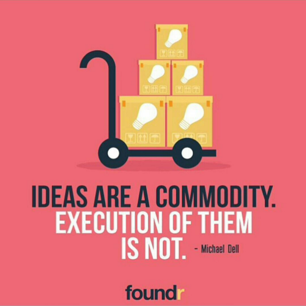 ideas are a commodity