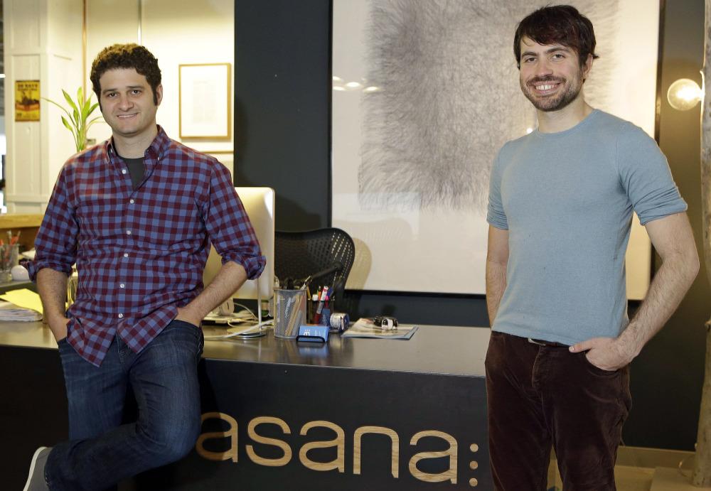 asana co-founders