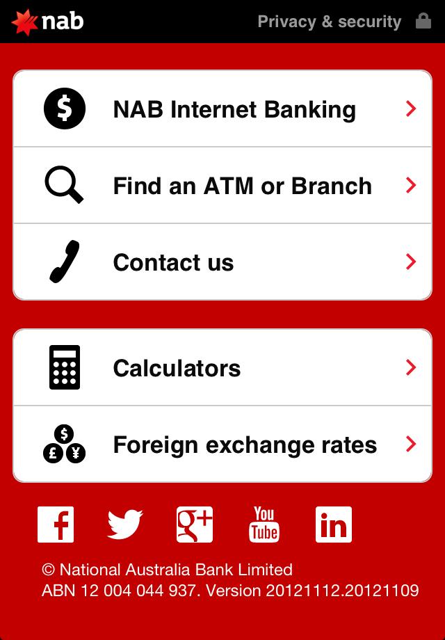 nab mobile app