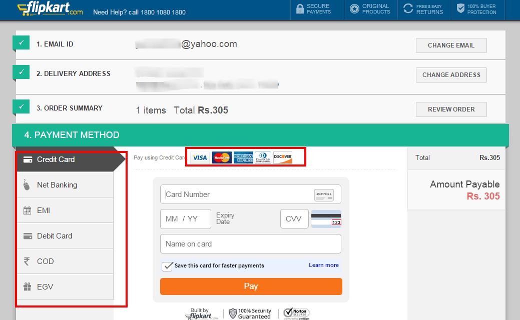 flipkart-secure-checkout