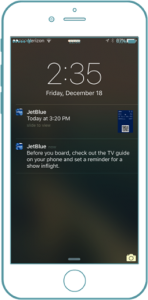 JetBlue App Geolocation