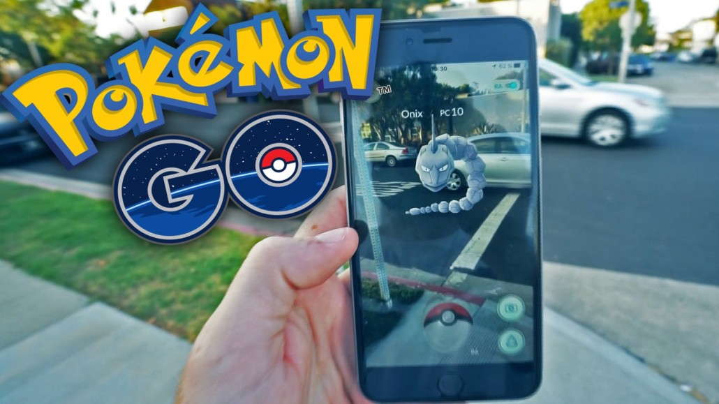 Pokemon Go Augmented Reality