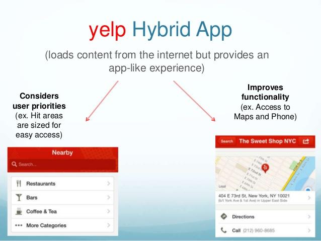 yelp-hybrid-app