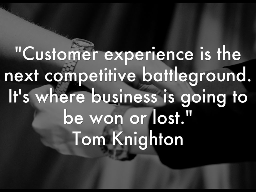Customer Experience Battle Ground