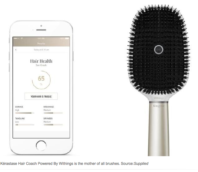 L'Oreal Smart Hairbrush